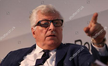 Prada fashion group CEO Patrizio Bertelli, attends the 'Luxury' ashion summit in Milan, Italy