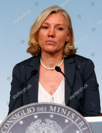 """Josefa Idem Italy's equal opportunity and sports minister Josefa Idem attends a press conference at Chigi palace, Premier's office, in Rome, . Idem Ihas apologized for irregularities in the construction of her private residence, but said she would not resign as a result. Josefa Idem said Saturday any irregularities were oversights that she would remedy. Idem said she was not infallible """"but I am an honest person and I won't allow anyone to doubt that. """" The Olympic canoe racer said she had entrusted professionals with details of the construction and proper registration of the residence and gym she owns in Ravenna"""