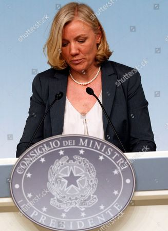 Editorial image of Italy Minister Taxes, Rome, Italy
