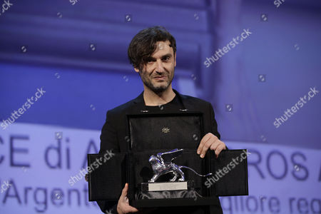 Alexandros Avranas Director Alexandros Avranas holds the Silver Lion for Best Director for the film Miss Violence, during the awards ceremony of the 70th edition of the Venice Film Festival in Venice, Italy