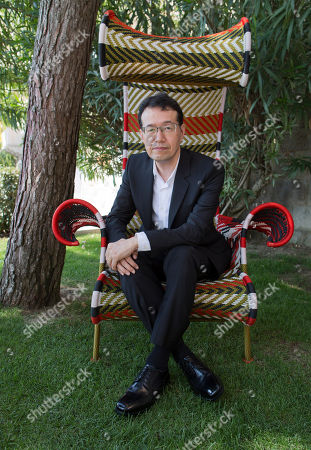 Shinji Aramaki In this picture taken, in Venice, Italy, director Shinji Aramaki poses for portraits at the 70th edition of the Venice Film Festival held at the Venice Lido from Aug. 28 through Sept. 7