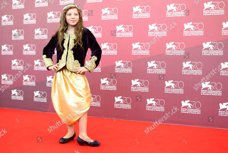 Myriam Ait El Hadj Actress Myriam Ait El Hadj poses for photographers during the photo call of the film 'Les Terrasses' at the 70th edition of the Venice Film Festival held from Aug. 28 through Sept. 7, in Venice, Italy
