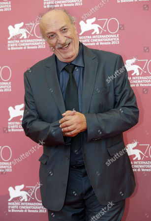 Hacene Benzerari Actor Hacene Benzerari poses for photographers during the photo call of the film 'Les Terrasses' at the 70th edition of the Venice Film Festival held from Aug. 28 through Sept. 7, in Venice, Italy