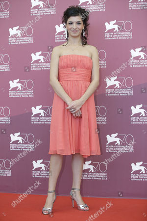 Meriem Medjkane Actress Meriem Medjkane poses for photographers during the photo call of the film 'Les Terrasses' at the 70th edition of the Venice Film Festival held from Aug. 28 through Sept. 7, in Venice, Italy