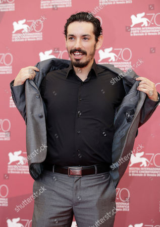 Nadjib Oulebsir Actor Nadjib Oulebsir poses for photographers during the photo call of the film 'Les Terrasses' at the 70th edition of the Venice Film Festival held from Aug. 28 through Sept. 7, in Venice, Italy