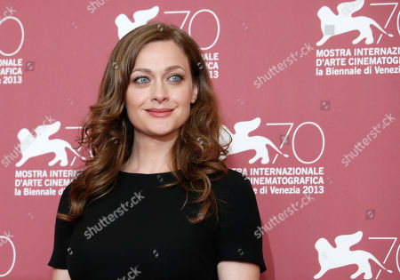 Eleni Roussinou Actress Eleni Roussinou poses for photographers during the photo call for the film Miss Violence at the 70th edition of the Venice Film Festival held from Aug. 28 through Sept. 7, in Venice, Italy