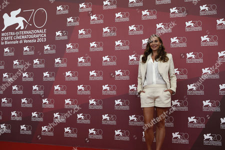 Jacqui Getty Actress Jacqui Getty poses for photographers during the photo call for the film Palo Alto at the 70th edition of the Venice Film Festival held from Aug. 28 through Sept. 7, in Venice, Italy