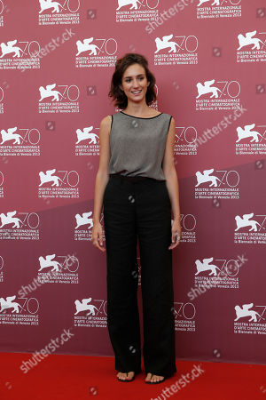 Livia Rossi Actress Livia Rossi poses for photographers at the photo call for the film The Intrepid at the 70th edition of the Venice Film Festival held from Aug. 28 through Sept. 7, in Venice, Italy