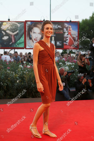 Livia Rossi Actress Livia Rossi poses for photographers on the red carpet for the film The Intrepid at the 70th edition of the Venice Film Festival held from Aug. 28 through Sept. 7, in Venice, Italy