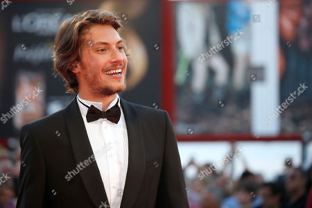 Gabriele Rendina Actor Gabriele Rendina poses for photographers on the red carpet for the film The Intrepid at the 70th edition of the Venice Film Festival held from Aug. 28 through Sept. 7, in Venice, Italy