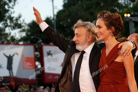 Gianni Amelio, Livia Rossi Director Gianni Amelio and actress Livia Rossi pose for photographers on the red carpet for the film The Intrepid at the 70th edition of the Venice Film Festival held from Aug. 28 through Sept. 7, in Venice, Italy
