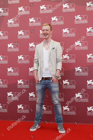 David Zimmerschied Actor David Zimmerschied poses for photographers during the photo call for the film The Police Officer's Wife the 70th edition of the Venice Film Festival held from Aug. 28 through Sept. 7, in Venice, Italy