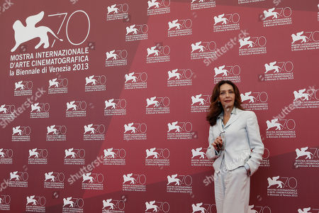Maria Rosaria Omaggio Actress Maria Rosaria Omaggio poses for photographers during the photo call for the film Walesa. Man Of Hope, during the 70th edition of the Venice Film Festival held from Aug. 28 through Sept. 7, in Venice, Italy