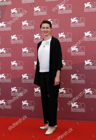Agnieszka Grochowska Actress Agnieszka Grochowska poses for photographers during the photo call for the film Walesa. Man Of Hope, during the 70th edition of the Venice Film Festival held from Aug. 28 through Sept. 7, in Venice, Italy