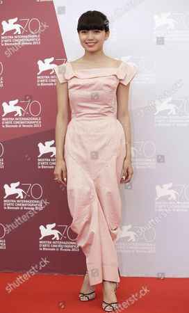 Fumi Nikaido Actress Fumi Nikaido poses during a photo call for the movie 'Why Don't You Play In Hell' at the 70th edition of the Venice Film Festival held from Aug. 28 through Sept. 7, in Venice, Italy