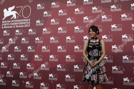 Miori Takimoto Actress Miori Takimoto poses for photographers during the photo call for the film The Wind Rises at the 70th edition of the Venice Film Festival held from Aug. 28 through Sept. 7, in Venice, Italy