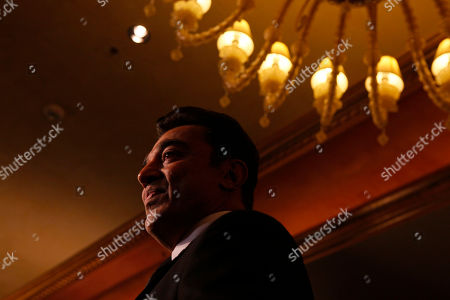 Kamal Haasan Bollywood actor Kamal Haasan arrives for the International Indian Film Academy (IIFA) awards in Macau