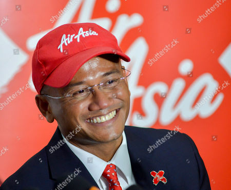 Stock Photo of Azran Osman-Rani AirAsia X Chief Executive Officer Azran Osman-Rani attends a news conference after the launching of its initial public offering (IPO) in Kuala Lumpur, Malaysia
