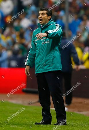 Jose Manuel de la Torre Mexico's head coach Jose Manuel de la Torre gestures from the sidelines at a 2014 World Cup qualifying match with Honduras in Mexico City, . Luis Fernando Tena took over as Mexico coach on Saturday hours after an embarrassing home loss to Honduras in World Cup qualifying ended the two-year tenure of Jose Manuel De la Torre
