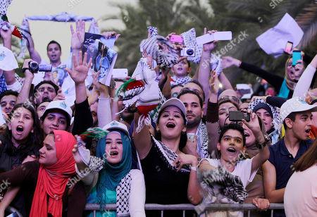 Editorial photo of Mideast Emirates Arab Idol, Dubai, United Arab Emirates