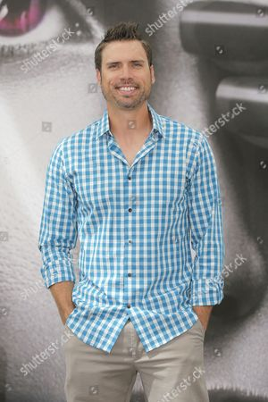 """Joshua Morrow Actor Joshua Morrow of TV series """"The Young and the Restless"""" poses for photographers during the 2013 Monte Carlo Television Festival, Monday, June 10, 2013, in Monaco"""