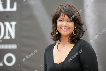 """Tonya Lee Williams Actress Tonya Lee Williams of TV series """"The Young and the Restless"""" poses for photographers during the 2013 Monte Carlo Television Festival, Monday, June 10, 2013, in Monaco"""
