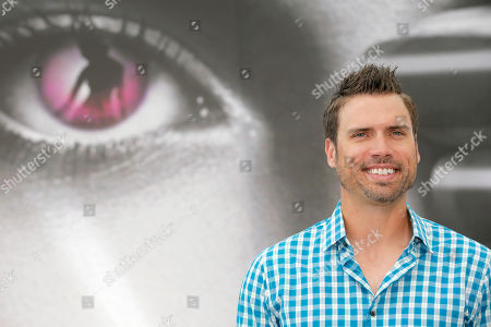 """Stock Image of Joshua Morrow Actor Joshua Morrow of TV series """"The Young and the Restless"""" poses for photographers during the 2013 Monte Carlo Television Festival, Monday, June 10, 2013, in Monaco"""