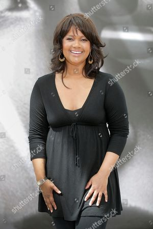 """Stock Image of Tonya Lee Williams Actress Tonya Lee Williams of TV series """"The Young and the Restless"""" poses for photographers during the 2013 Monte Carlo Television Festival, Monday, June 10, 2013, in Monaco"""
