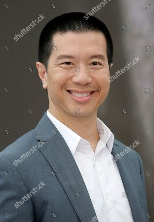 """Reggie Lee of TV series """"Grimm"""" poses for photographers during the 2013 Monte Carlo Television Festival, in Monaco"""