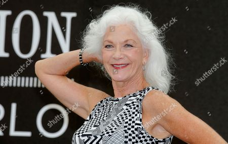 Actress Linda Thorson poses for photographers during the 2013 Monte Carlo Television Festival, in Monaco