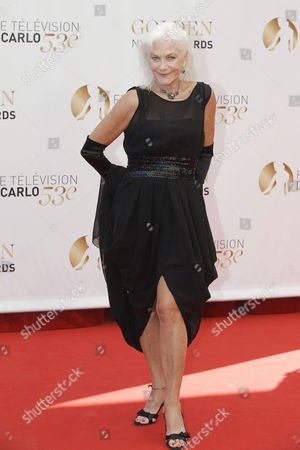 Linda Thorson Actress Linda Thorson poses for photographers during the closing ceremony of the 2013 Monte Carlo Television Festival, in Monaco