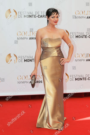 Crystal Allen Actress Crystal Allen poses for photographers during the closing ceremony of the 2013 Monte Carlo Television Festival, in Monaco