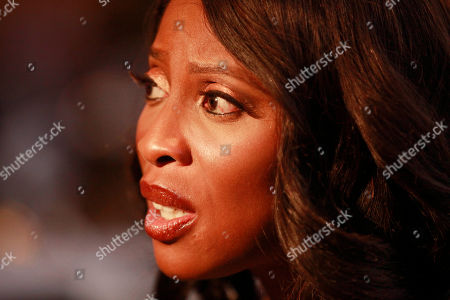 """On, Mo Abudu, chief executive officer of EbonyLife TV, speaks to Associated Press during an interview in Lagos, Nigeria. Mo Abudu, who could be considered Africa's Oprah Winfrey, is launching an entertainment network that will be beamed into nearly every country on the continent with programs showcasing its burgeoning middle class. Mosunmola """"Mo"""" Abudu wants EbonyLife TV to inspire Africans and the rest of the world, and change how viewers perceive the continent"""