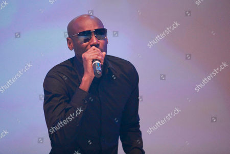 """Hip hop artist 2Face Idibia performs during the launch of EbonyLife TV, Africa's first global black entertainment network in Lagos, Nigeria. Mo Abudu, who could be considered Africa's Oprah Winfrey, is launching an entertainment network that will be beamed into nearly every country on the continent with programs showcasing its burgeoning middle class. Mosunmola """"Mo"""" Abudu wants EbonyLife TV to inspire Africans and the rest of the world, and change how viewers perceive the continent"""