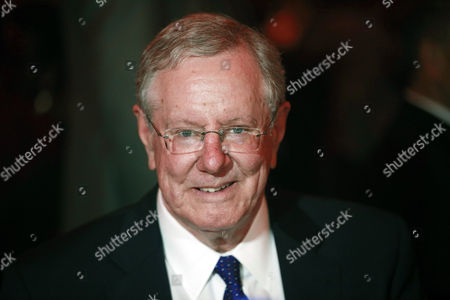 """Steve Forbes, Editor-in-Chief of Forbes Media attends the launch of EbonyLife TV, Africa's first global black entertainment network in Lagos, Nigeria. Mo Abudu, who could be considered Africa's Oprah Winfrey, is launching an entertainment network that will be beamed into nearly every country on the continent with programs showcasing its burgeoning middle class. Mosunmola """"Mo"""" Abudu wants EbonyLife TV to inspire Africans and the rest of the world, and change how viewers perceive the continent"""