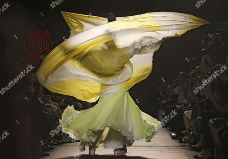 Editorial picture of Paris Fashion Laurence Xu, Paris, France