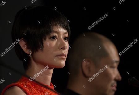 Yoko Maki Japanese actress Yoko Maki attends a news conference at the 35th Moscow International Film Festival in Moscow, Russia, . Yoko Maki stars in The Ravine of Goodbye, a Japanese drama film directed by Tatsushi Omori, which is in competition at the Moscow International Film Festival