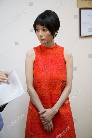 Yoko Maki Japanese actress Yoko Maki listens to a question after a news conference at the 35th Moscow International Film Festival in Moscow, Russia, . Yoko Maki stars in The Ravine of Goodbye, a Japanese drama film directed by Tatsushi Omori, which is in competition at the Moscow International Film Festival
