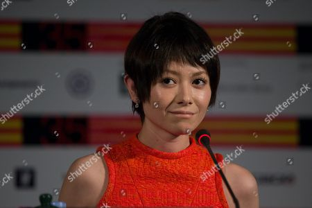 Yoko Maki Japanese actress Yoko Maki speaks during a news conference at the 35th Moscow International Film Festival in Moscow, Russia, . Yoko Maki stars in The Ravine of Goodbye, a Japanese drama film directed by Tatsushi Omori which is in competition at the Moscow International Film Festival