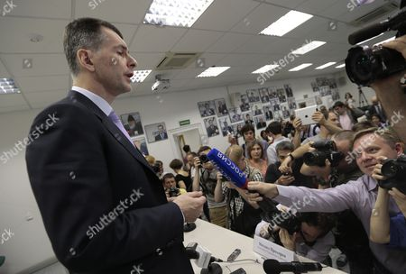 Editorial image of Russia Prokhorov, Moscow, Russia