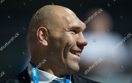 Nikolai Valuev Nikolai Valuev, Russian lawmaker, retired professional boxer and former two-time WBA heavyweight champion watches the opening ceremony for the 27th Universiade games in Kazan, 720 kilometers (450 miles) east of Moscow, Russia
