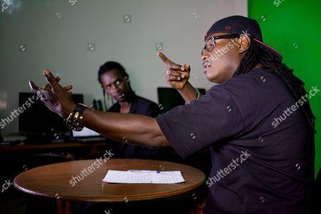 Editorial picture of Senegal Rapping the News, Dakar, Senegal