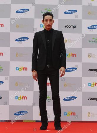 Lee Soo-hyuk South Korean actor Lee Soo-hyuk poses at the Seoul International Drama Awards in Seoul, South Korea