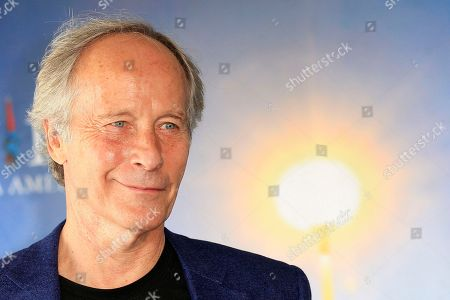 "Stock Image of Richard Ford American novelist and short story writer, Richard Ford, as he poses during a photo call at the 39th American Film Festival, in Deauville, Normandy, western France. U.S. writer Richard Ford, author of the widely acclaimed novel ""Independence Day,"" has won Spain's prestigious Asturias prize for literature in recognition of his contribution to American letters. The award foundation Wednesday June 15, 2016 described Ford, 72, as the ""great chronicler of the mosaic of interrelated stories that is North American society,"" and the considered heir to U.S. literary giants, Ernest Hemingway and William Faulkner"