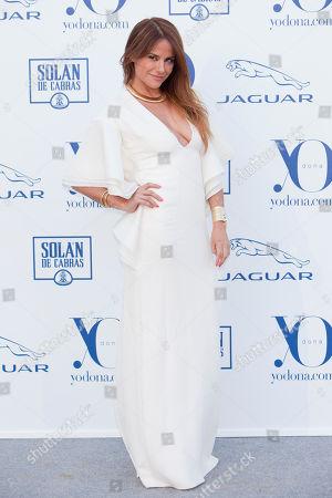 Monica Hoyos Spanish presenter Monica Hoyos poses during the photocall in 'Yo Dona International Awards' in Madrid, Spain