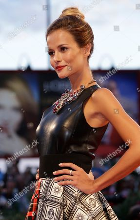 Natalia Borges Model Natalia Borges poses on the red carpet for the screening of the film Tracks, at the 70th edition of the Venice Film Festival held from Aug. 28 through Sept. 7, in Venice, Italy