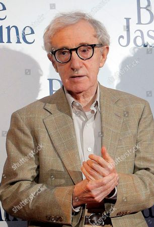 "Woody Alen Director and actor Woody Allen at the French premiere of ""Blue Jasmine,"" in Paris. Allen is again denying he molested adoptive daughter Dylan Farrow and is calling ex-partner Mia Farrow vindictive, spiteful and malevolent in an open-letter published online by The New York Times"