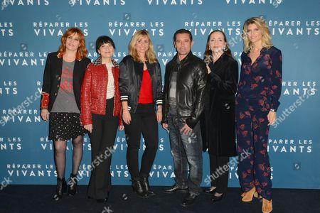 Emmanuelle Seigner, Anne Dorval, Katell Quillevere, Kool Chen, Dominique Blanc and Alice Taglioni
