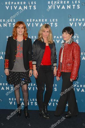 Emmanuelle Seigner, Katell Quillevere and Anne Dorval