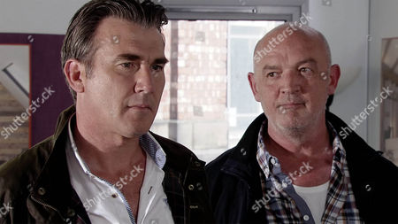 Vinny, as played by Ian Kelsey,  and Phelan, as played by Connor McIntyre, are gobsmacked when Todd Grimshaw, as played by Bruno Langley, turns up at the site and announces that he wants in on the deal, declaring he's reverting to type following Billy's rejection and back on the dark side he'll happily fleece the neighbours. But he stipulates that Eileen and Jason mustn't lose a penny or he will scupper the project. Will Phelan and Vinny accepts Todd's terms' (Ep 8994 - Monday 19th September 2016)